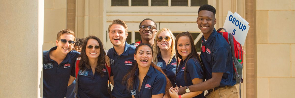 2016 honors freshman orientation.  Photo by Kevin Bain/Ole Miss Communications